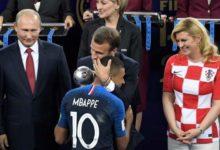 Final del Mundial de Fútbol 2018.