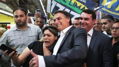 Bolsonaro y Haddad.