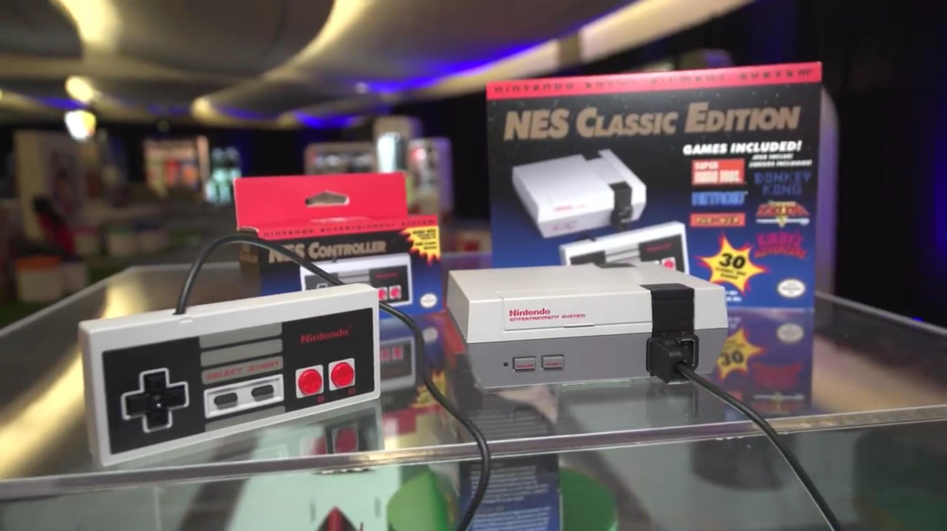 Nintendo Trae El Nes Mini De Regreso