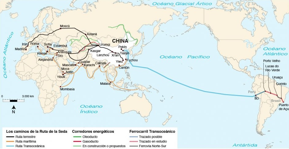 Mapa Ruta Seda China 960x595 El Informante Digital